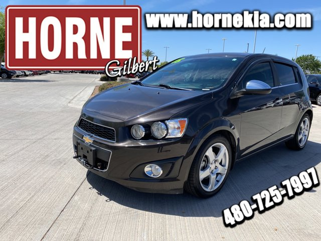 used 2015 Chevrolet Sonic car, priced at $11,450