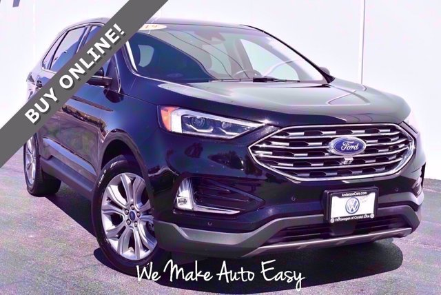 used 2019 Ford Edge car, priced at $24,250