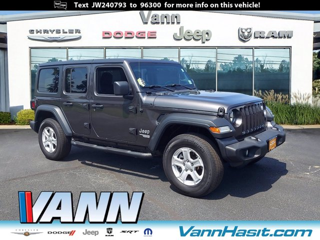 used 2018 Jeep Wrangler Unlimited car, priced at $40,995