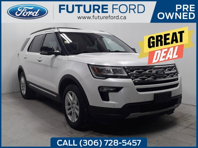 used 2018 Ford Explorer car, priced at $33,795