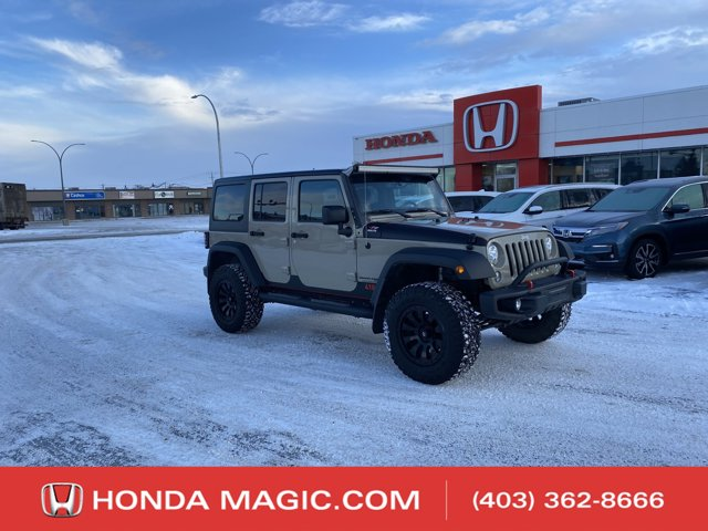 used 2018 Jeep Wrangler JK Unlimited car, priced at $49,995