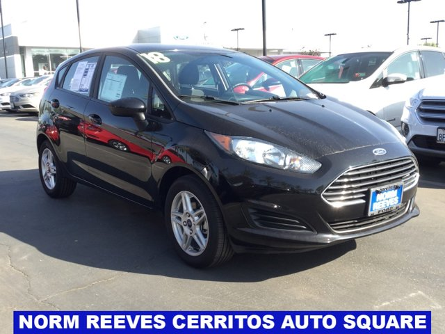 used 2018 Ford Fiesta car, priced at $11,550