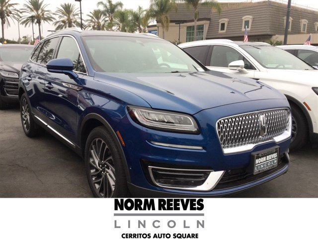 new 2020 Lincoln Nautilus car, priced at $54,315