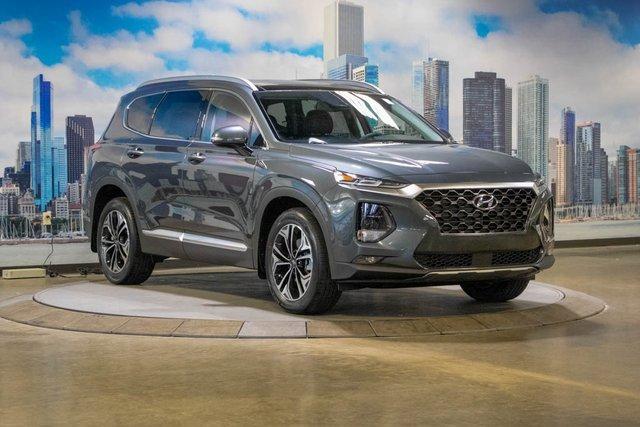 new 2020 Hyundai Santa Fe car, priced at $36,205
