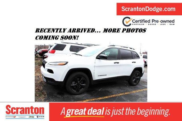used 2017 Jeep Cherokee car, priced at $18,595