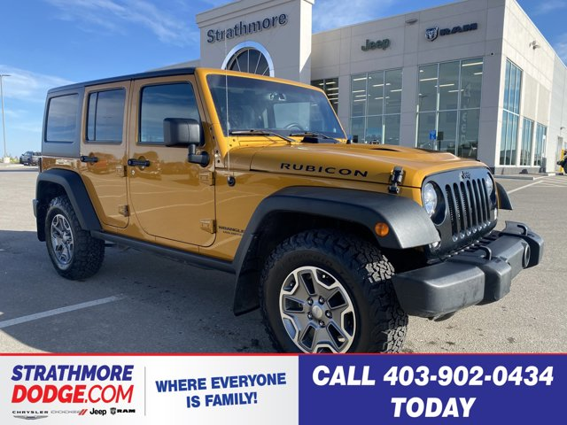 used 2014 Jeep Wrangler Unlimited car, priced at $32,995