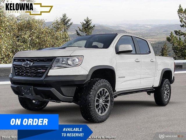 new 2021 Chevrolet Colorado car