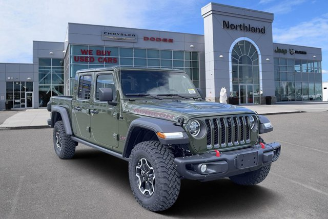 new 2021 Jeep Gladiator car, priced at $77,539