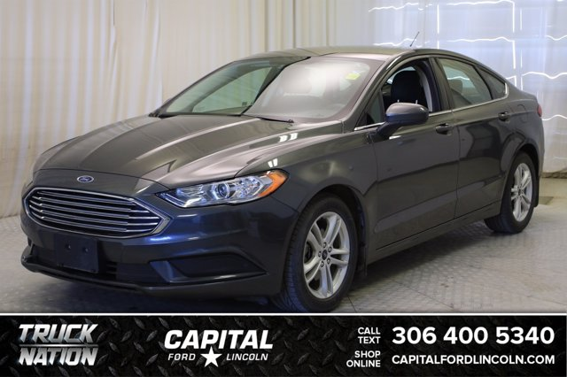 used 2018 Ford Fusion car, priced at $18,715