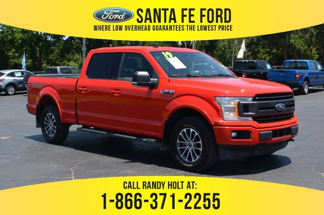 used 2019 Ford F-150 car, priced at $44,621